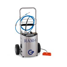RAM 6 Rotary Tube Cleaner 110v 50 Hz C/W Trolley