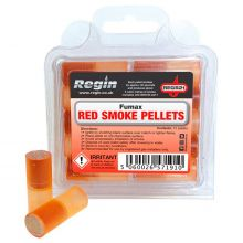 Red Smoke Pellets - Pack of 10