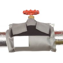 "8"" Single Sided Silicone Cloth C.I. Gate Valve Jacket"