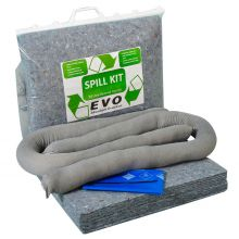 Universal Spill Kit - Clip-top Bag - Absorbs 20L
