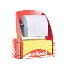 SpillPod Duo - Blue 2-ply 1000 Sheet Paper Roll