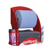 SpillPod Duo - Quick-rip Absorbent Roll