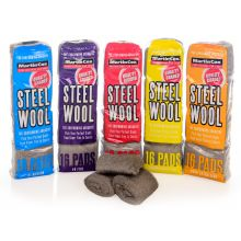 Steel Wool Full 5 Grade Kit Pack Of 80 Pads