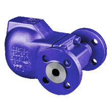 UNA14 Horizontal Ball Float Steam Trap Flanged 15mm PN25