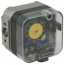 UB50A4 5 mbar - 50 mBar Pressure Switch with Reset