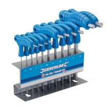 Hex Key T-Handle Set 10pce
