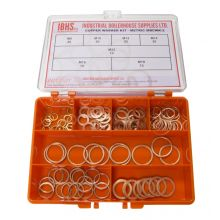 Copper Washer Kit 115 PCE - Metric 7 sizes