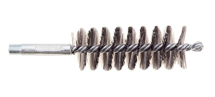 "1 3/4"" Dia.St.Steel Wire Brush C/W 1/2"" Whit Male Connection"