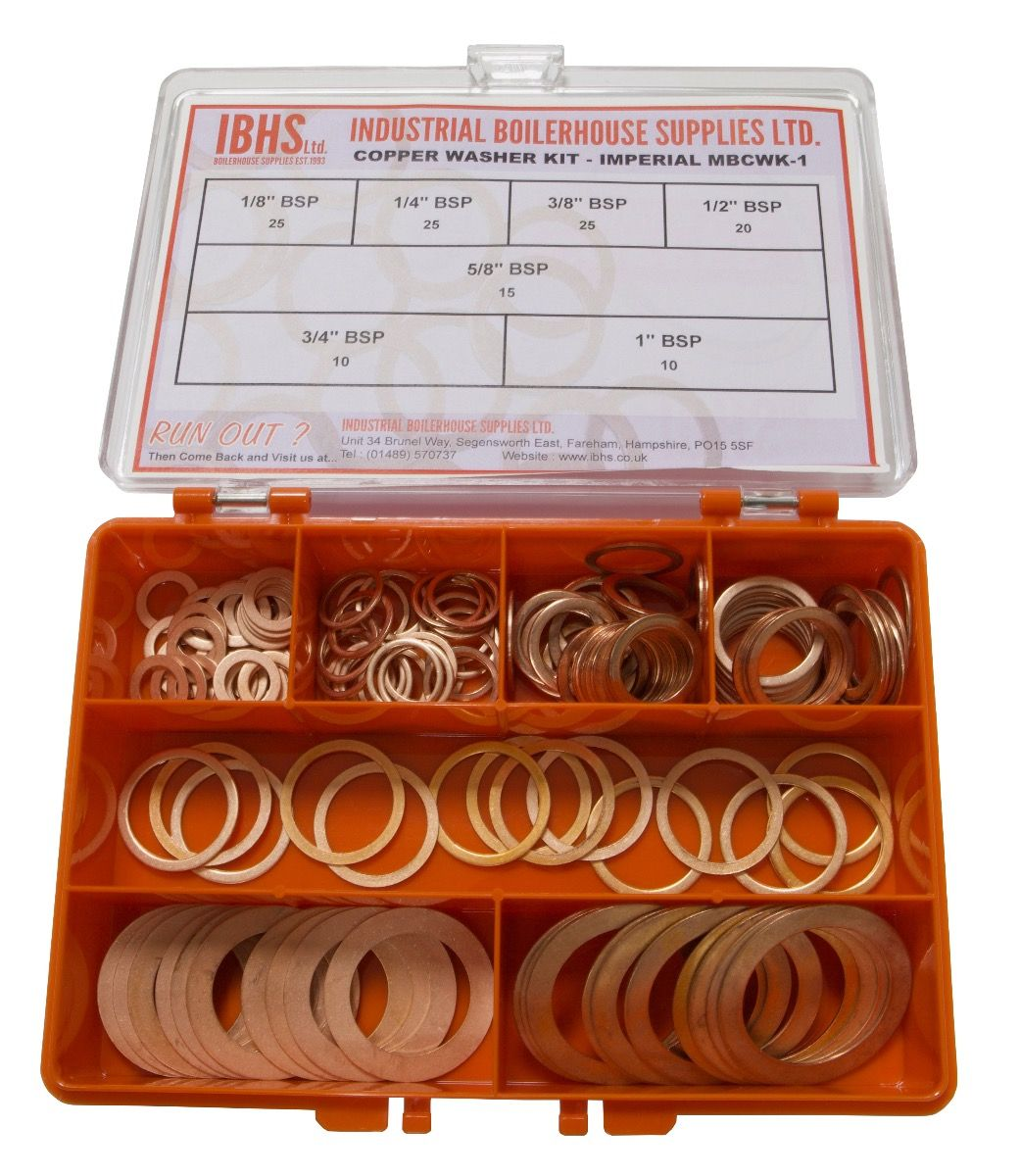 STOPPERS ! Prismatic copper springs ONE LITER