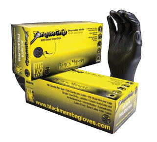 Black Mamba Torque Grip Disposable Gloves