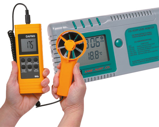 CO2 & Flow Meters