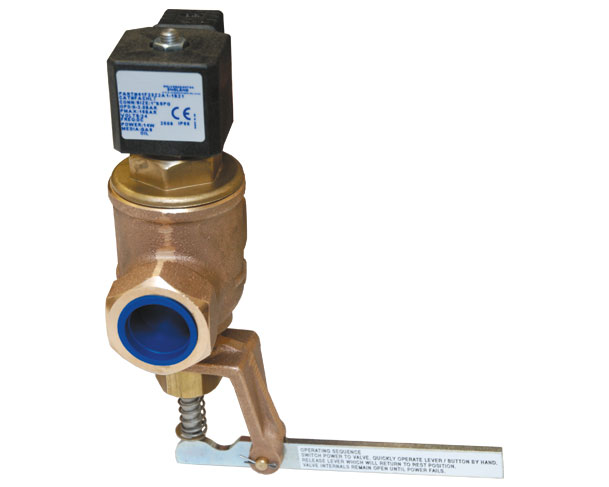 Manual Reset Solenoid Valves
