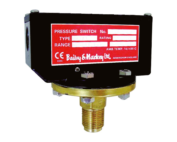 Bailey & Mackey Pressure Switches