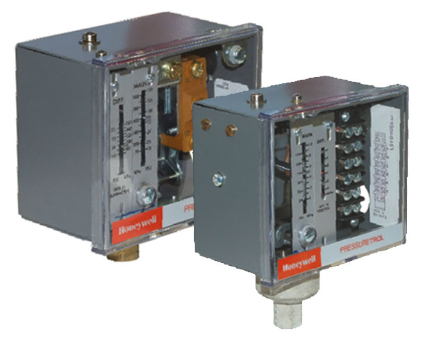 Honeywell Pressuretrols