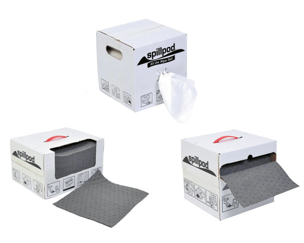 Spillpod Boxed Absorbents