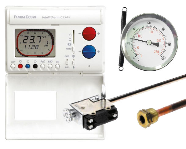 Thermostats & Thermometers