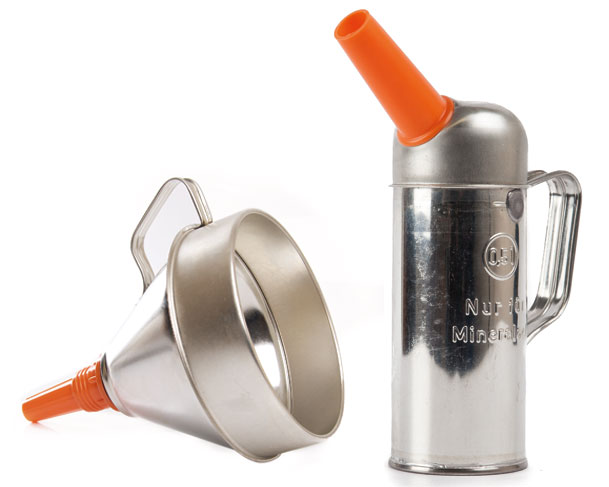 Oil Cans & Funnels
