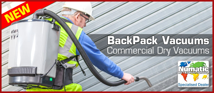 Back Pack Vacuums Now Available