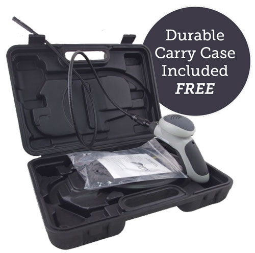 FREE Durable Carry Case Included