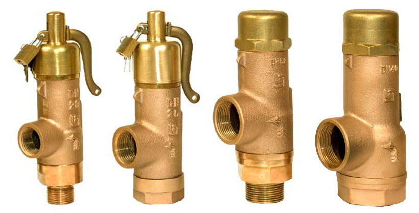 Bailey Birkett 707 Safety Valve Range